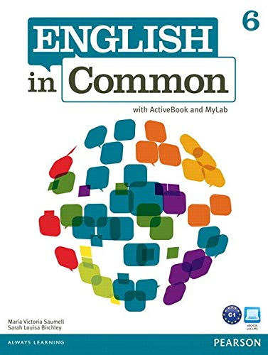 English in Common 6 with ActiveBook and MyLab English