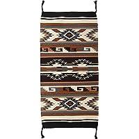 El Paso Designs Southwest Hand Woven Wool Accent Rug (20 X 40) (HIM40331E)