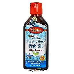 Carlson For Kids Very Finest Fish Oil Orange, 200ml