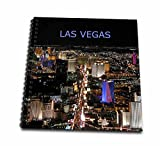 3dRose db_1237_2 Las Vegas The Strip Memory Book, 12 by 12-Inch