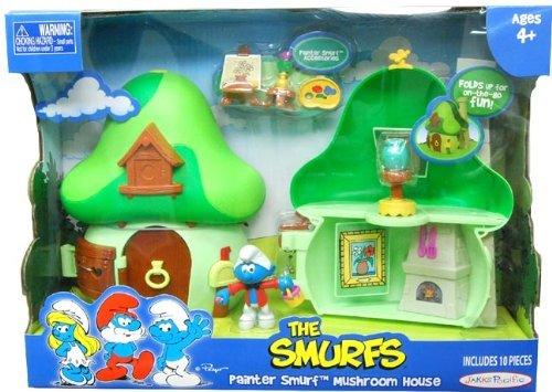 Smurf Mushroom (Smurf with Mushroom House)