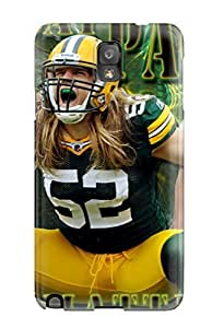 JoelNR Snap On Hard Case Cover Greenay Packers Protector For Galaxy Note 3