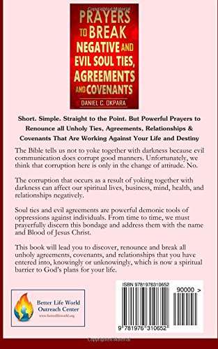 Prayers to Break Negative and Evil Soul Ties, Agreements and