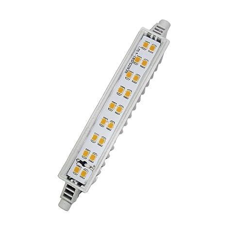 LightED J118 Slim Bombilla LED 40K R7s, 7 W, Blanco, 118 x 18