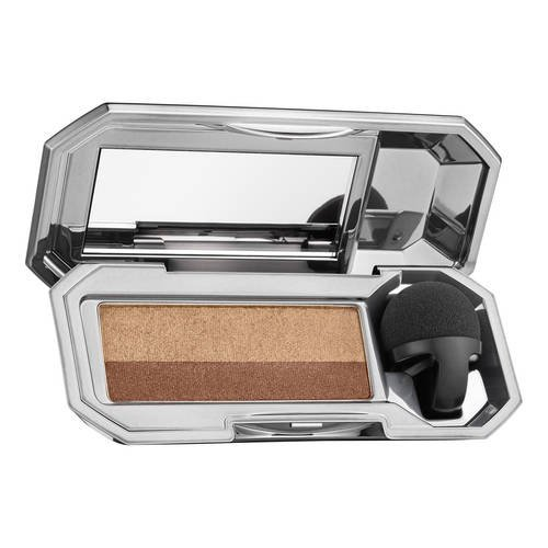 (Benefit Cosmetics They're Real! Duo Eyeshadow Blender Beyond Easy Eyeshadow Duo (Kinky Khaki - rose gold (sheen) / khaki green)