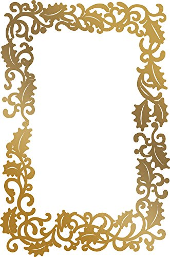Artdeco Creations CO725577 Couture Creations Anna Griffin Hot foil Stamp Framed Holly Multi
