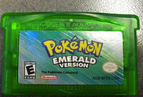 Nintendo Game Boy Advance Pokemon Emerald Version Cartridge Only Ash Ketchum (Best Pokemon In Emerald Version)