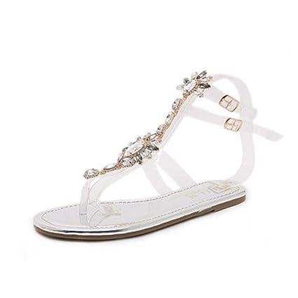 57bbb1718ff249 Amazon.com  SUKEQ Women Sandals