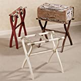 Gate House Furniture Petite Floral Luggage Rack