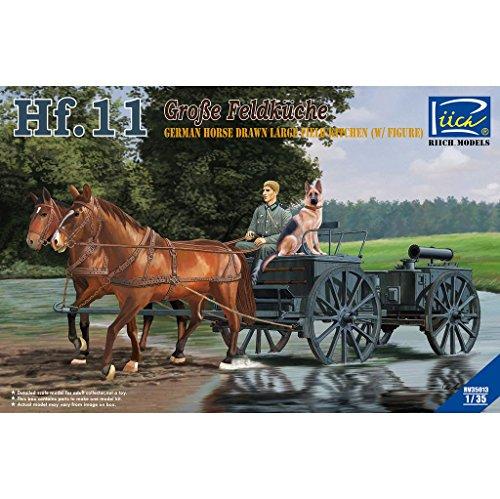 Riich Models 1/35 German Horse Drawn Field Kitchen HF.11 Model Kit, Large -