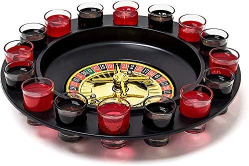 Relaxdays- Juego de Beber, Color Rojo/Negro (10010182): Amazon.es: Juguetes y juegos