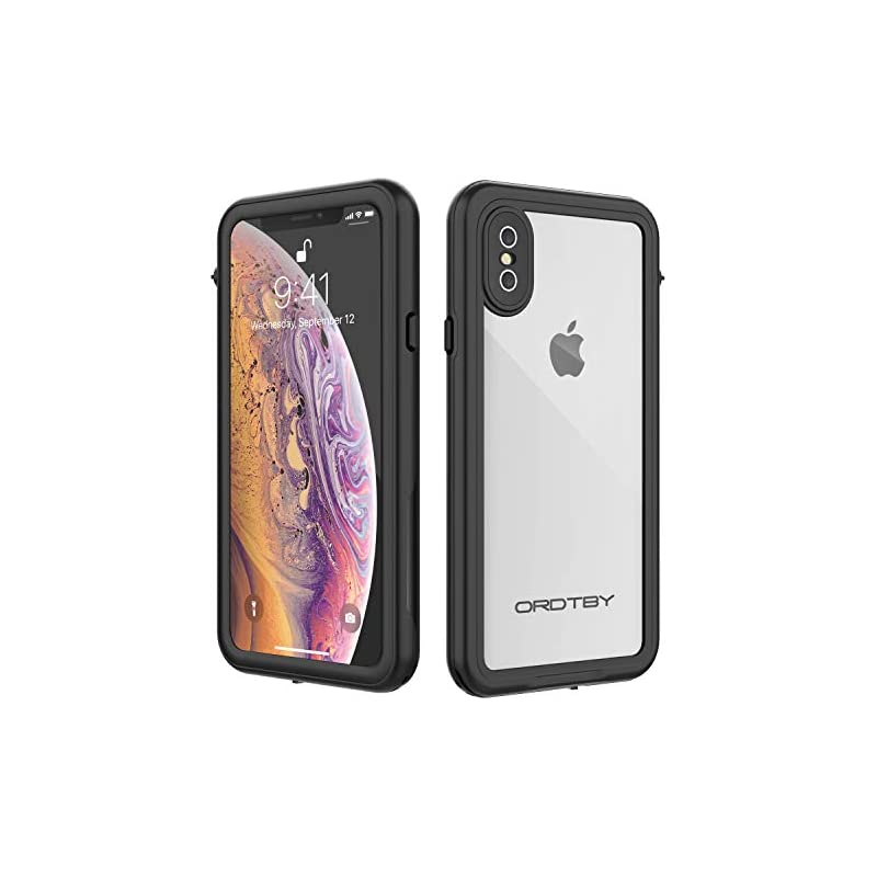 ORDTBY iPhone Xs/iPhone X Waterproof Cas