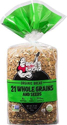 (Dave's Killer Bread - 21 Grains - 4 Loaves - USDA Organic by Dave's Killer Bread )
