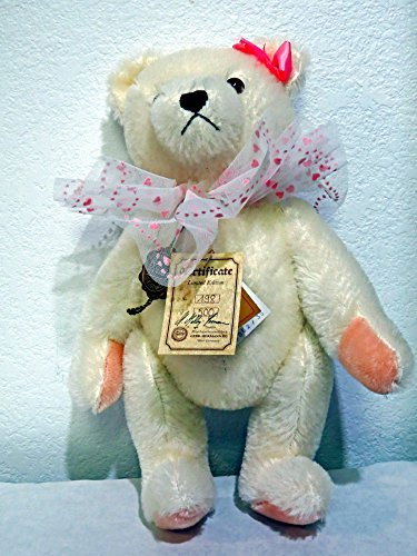 Hermann Teddy Original 'ANGELICA' 13 inches White #198 of 500. Signed by G.G. Hermann 1990 100% ()