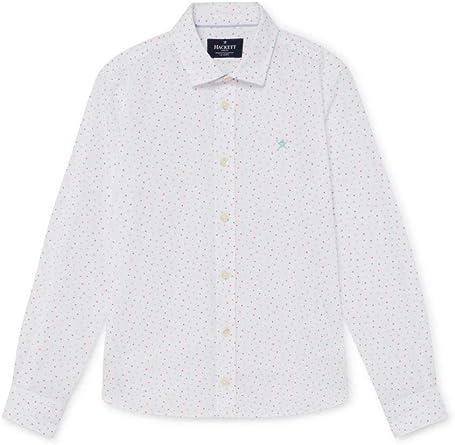 Hackett - Camisa Multi Triangle Print B HK301528/8AJ - Camisa ...