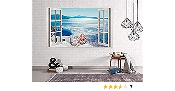 50 x 35 cm Decoracion Habitaci/ón Oedim Vinilo Ventana Caballo Adhesivo Incluido Pegatina Adhesiva Dise/ño Profesional