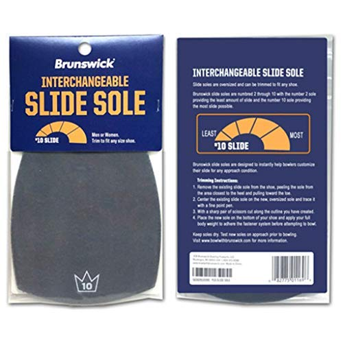 Brunswick Slide Sole #10 (Cut to Fit)