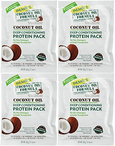 Palmers Coconut Oil Formula Deep Conditioning Protein Pack, 2.1 Oz by ()