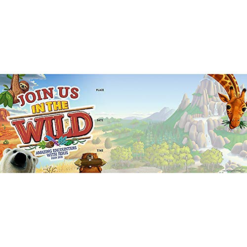 Promotional Banner - in The Wild VBS by LifeWay