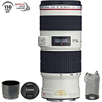 Canon EF 70-200mm f/4 L IS USM Lens for Canon Digital SLR Cameras (Certified Refurbished)