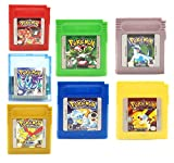 New Pokemon Gameboy Color Cartridge Collection
