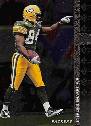 - 1994 SP Football #162 Sterling Sharpe Green Bay Packers Official NFL Trading Card From Upper Deck