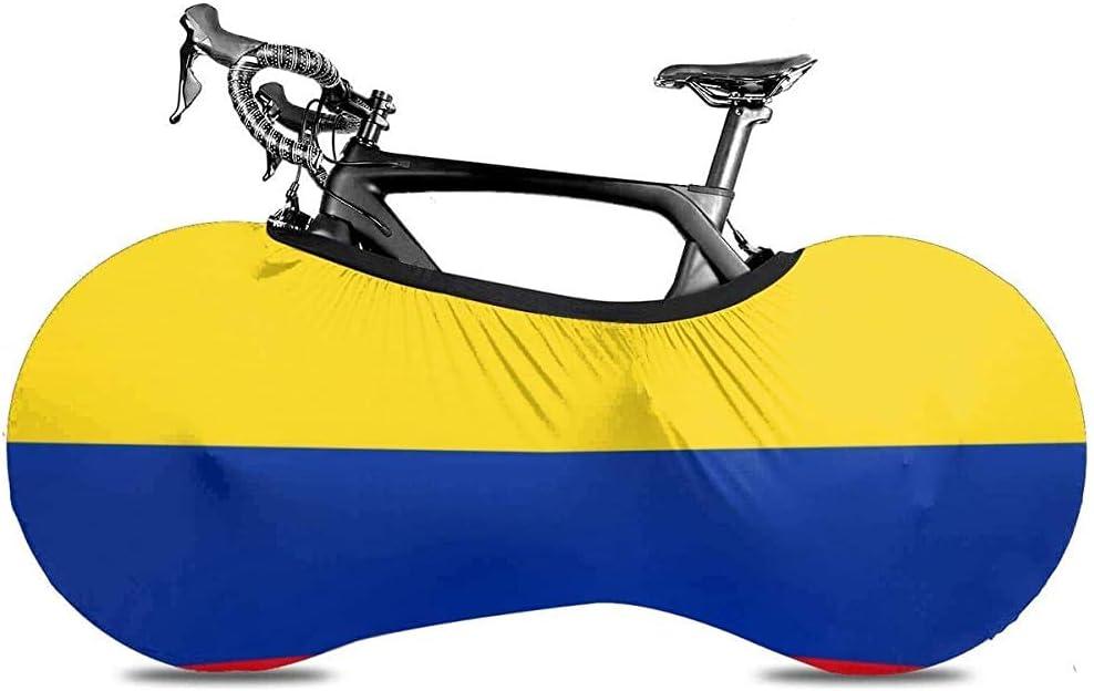 Xiaoyinghua Bandera Colombiana Cubierta de Bicicleta Impermeable al Aire Libre Lluvia Sol Polvo UV Prueba de Viento