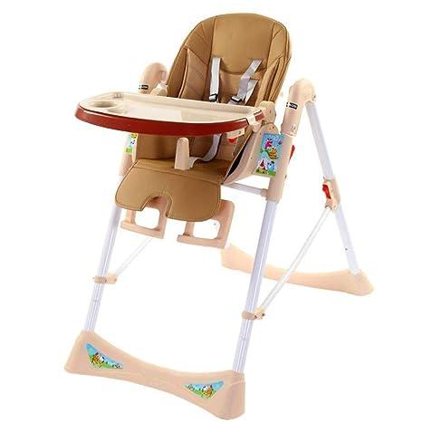 Zhongsufei-KC Tronas para bebé Silla cómoda y Plegable para ...