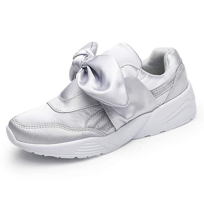 FHTDW Mocasines De Las Mujeres Zapatos Planos Sin Cordones Calzados Informales Bajas De Poca Ayuda Zapatos,Gray,39: Amazon.es: Ropa y accesorios