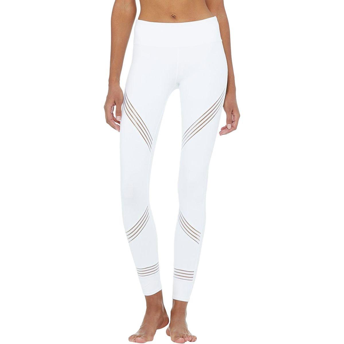 White L alo yoga Women's Tights