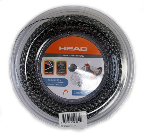 Head RIP Control 16 Tennis Racquet String Reel – Black