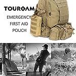 TOUROAM Trauma Medical First Aid Kit -Tactical Emergency Israeli Bandage-Survival Military Combat Tourniquet-Small IFAK… 10