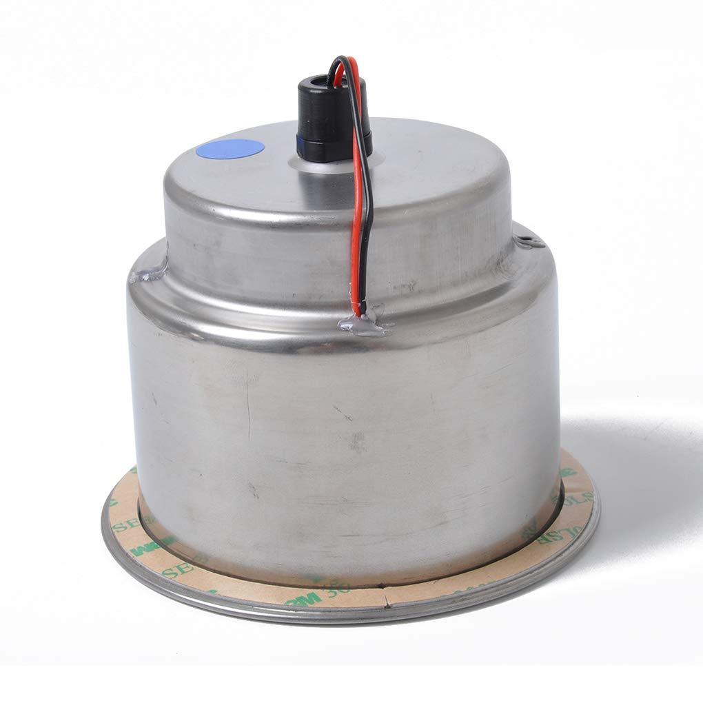 Luckiests Blu 8 incasso LED in acciaio inox tazza del supporto della bevanda di ricambio per Marine automobile rv