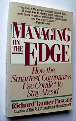 Image result for managing on the edge richard pascale amazon