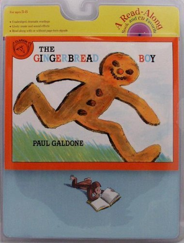 The Gingerbread Boy Book & CD [With CD (Audio)] (Read Along Paperback & Audio) by Paul Galdone (18-Feb-2008) Paperback (Boy Ginger The)