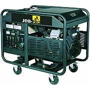 Job Pro+ GJPPE10000W 20 HP OHC Bands Vanguard Gas Powered Portable Generator with Wheel Kit, 12000-Watt