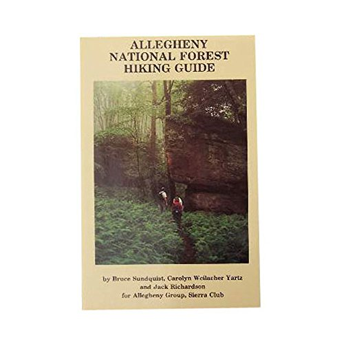 Allegheny National Forest Hiking Guide One Color One Size