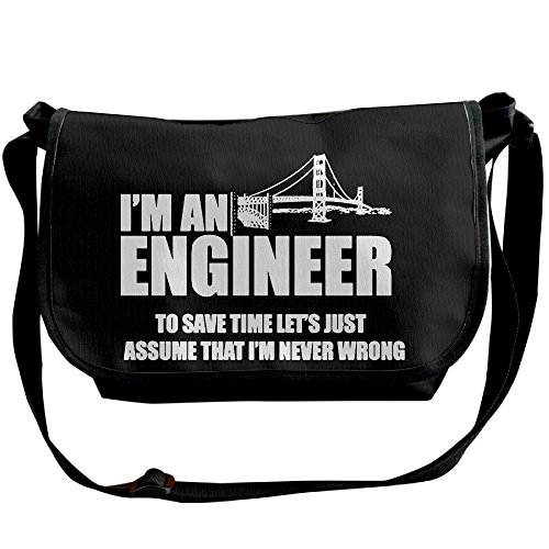 IcyHot Mens I'm An Engineer Series Lathe Engineering Funny T-shirt Unisex Sports Hiking Outdoor Students School Gym Workout Travel Journey Business Trip Backpack