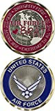 U.S. Air Force Brat Values and Heart Challenge Coin