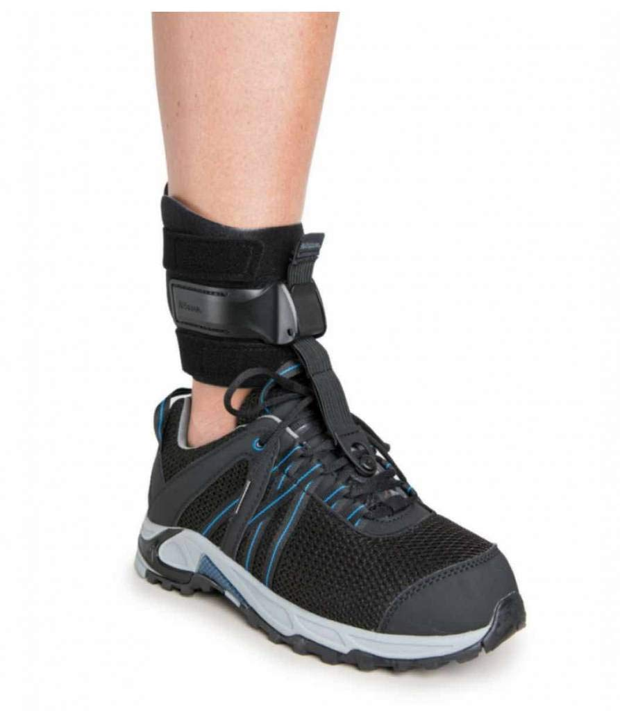Ossur Rebound Foot Up Drop-Foot Ankle Brace -Orthosis Ankle Brace Support Comfort Cushioned Adjustable Wrap (Includes Shoe Insert) (L/XL) by Ossur