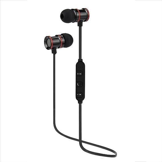 Axiba - Auriculares inalámbricos con Bluetooth y micrófono IPX4, Resistentes al Agua, estéreo,