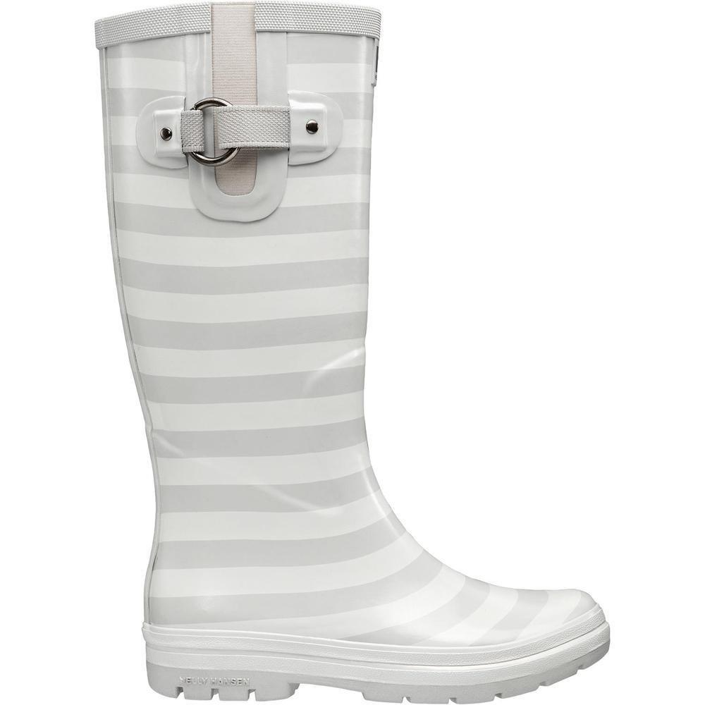 Helly Hansen Women's Veierland 2 Graphic Rain Boot B01GNSI8X8 11 B(M) US|Light Grey/Blanc De Blanc/Ebony