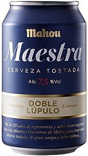 Mahou Maestra - Cerveza Doble Lúpulo Lata 330 ml (1 unidad)