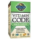 Garden of Life Vitamin Code Raw B-Complex UltraZorbe Vcaps, 60 Count