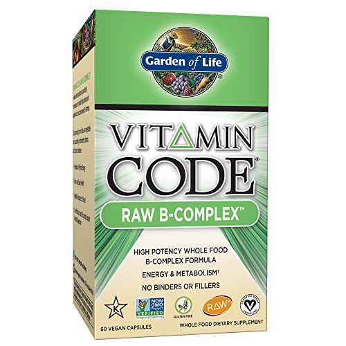 Garden of Life Vegan B Vitamin – Vitamin Code Raw B Complex Whole Food Supplement 51gMFHGb6WL