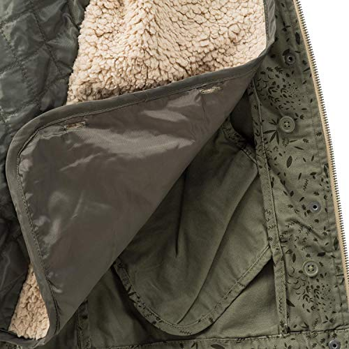 Donna Allover Surface Olive Giacca Urban wq6UEZAU