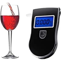 Useful Alcohol Breath Tester New Professional Police Digital Breathalyser House