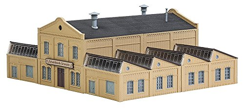 Faller 222220 Schmidt Shoe Factory N Scale Building (Factory Building Kit)