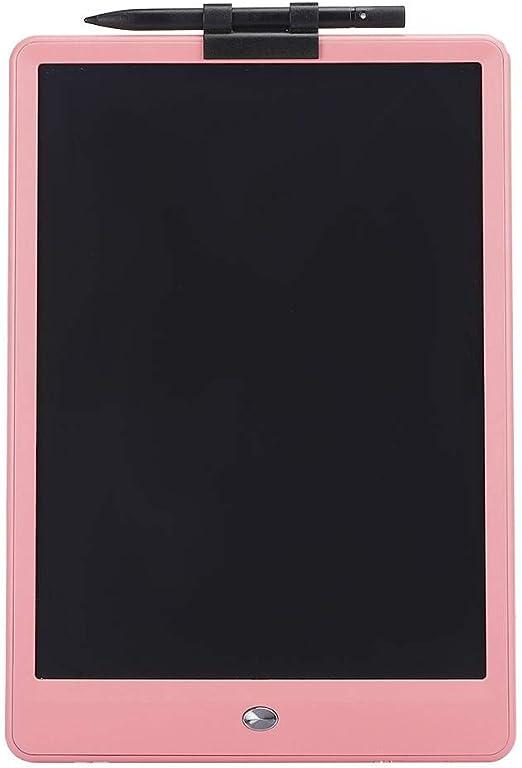 LCDライティングパッド10inライティングパッド子供向けの高感度電子製図ボード学習手書き教育(Pink)