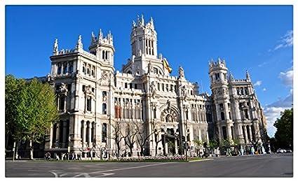 Madrid- (España) viaje sitios postal Post tarjeta: Amazon.es: Oficina y papelería